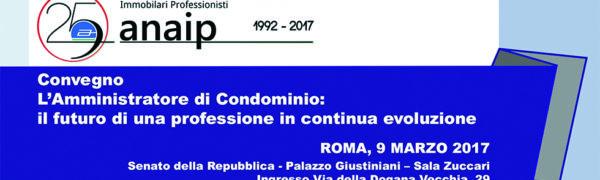 #ANAIP25 La Professione Dell'Amministratore Di Condominio