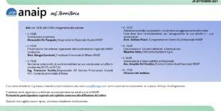 """Webinar """"ANAIP Nel Territorio – Lombardia -"""" 29 Settembre 2021"""