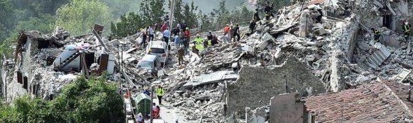 Terremoto Italia Centrale 2016